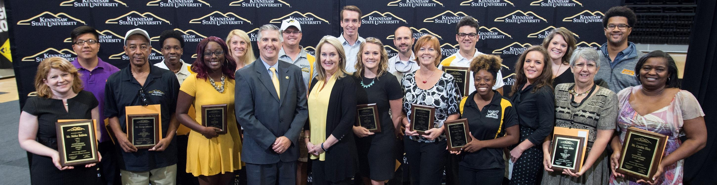 2016 Staff Award Winners